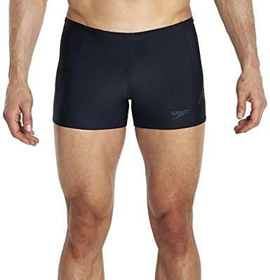(TG. 30 UK (44 IT)) Speedo Sports Logo Pnl Asht Am Costume da Bagno Adulto, Blac