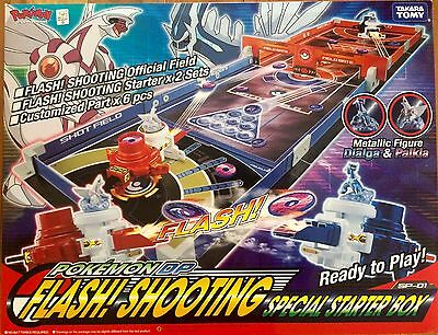 POKEMON Flash!Shooting Special Starter Box -Bring Card Game To Life!!