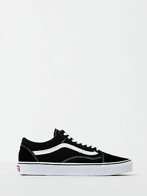 New Vans Unisex Old Skool Sneaker In Black