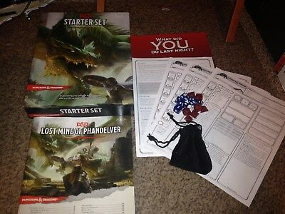 Dungeons and Dragons (D&D) Starter Set