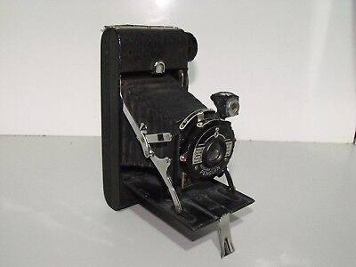 Rare Vintage Kershaw Eight-20 Penguin Folding Film Camera In Great Condition