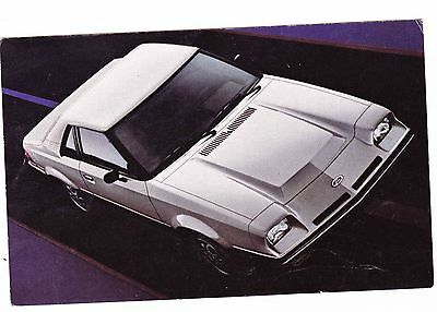 1982 Ford Exp  Postcard