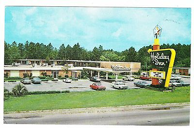 Holiday Inn---Jesup Goergia Postcard