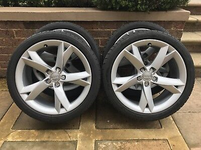 """Genuine 19"""" Audi A5 Wheels And Tyres"""