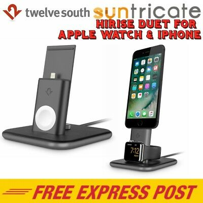 Twelve South HiRise Duet Charging Stand / Dock for Apple Watch & iPhone