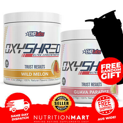 EHPLABS Oxyshred Twin Pack |Thermogenic Weight Loss EHP LABS Oxy Shred