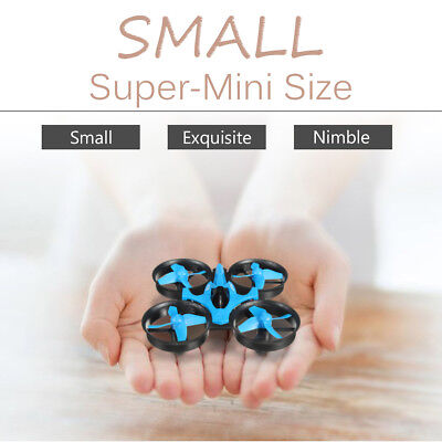 Mini LED Drone RC Quadcopter 2.4GHz 4CH 6 Axis Gyro Headless Mode Switch Kid Toy