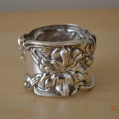 Sterling Silver Art Nouveau Napkin Ring Frank Whiting