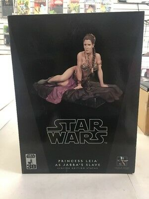 NEW SEALED PRINCESS LEIA AS JABBA'S SLAVE STATUE by Gentle Giant