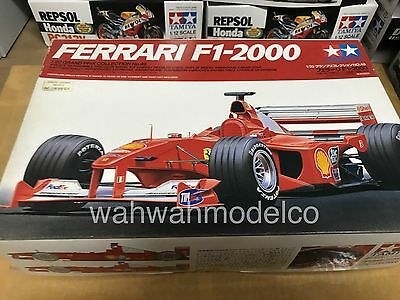 Tamiya 20048 1/20 Model Formula One Car Ferrari F1-2000 M.Schumacher/Barrichello
