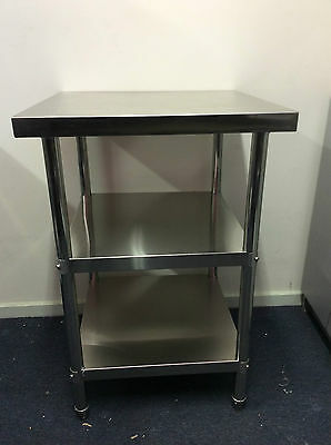 Brand New Stainless Steel Bench 600x600x900 mm