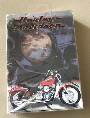 Harley Davidson Playing Cards-----New