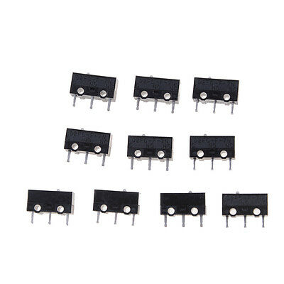 10PCS Authentic OMRON Mouse Micro Switch D2FC-F-7N Mouse Button Fretting Pop