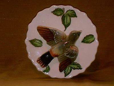 Vintage Japan Baltimore Oriole Wall Pocket Vase