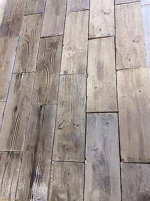 6 Commercial Rubber Molds Concrete Stone Wood Patio Pavers Veneer Tiles