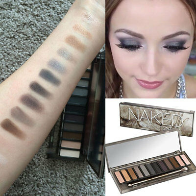 NAKED 12 Colors Smoky Urban Decay Heat Eye Shadow Palette