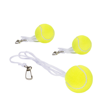 3x TOTEM TENNIS BALL REPLACEMENT BACKYARD TENNIS TRAINER SPARE BALL HOOK STRING
