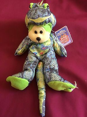 "Skansen beanie Kids  "" IGGY the IGUANA Bear """