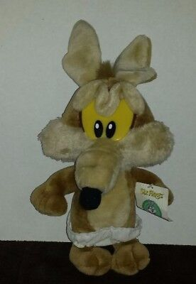 Looney Tunes Wile E Coyote Six Flags Stuffed Animal, Baby Looney Tunes Coyote