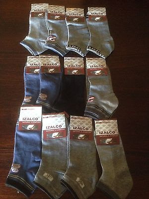 "6 Pairs Boys Mens Sport Ankle Socks $9  Size 6-10 Free Post  ""BARGAIN"""