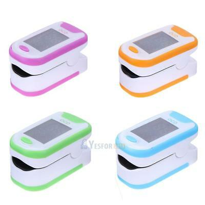 Digital Oximeter Finger Oxygen Pulse Blood Pressure Tester Portable Health Care