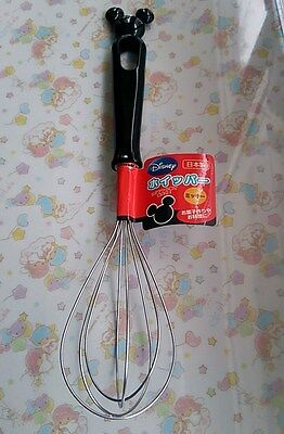 New Disney Mickey Mouse Kitchen Cooking Stainless Steel Whip Made In Japan