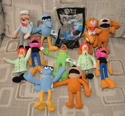 McDonalds Muppets Happy Meal Toys x 12