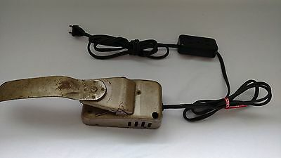 Vintage Shoe Sewing Machine Foot Pedal Model C Tested Rare