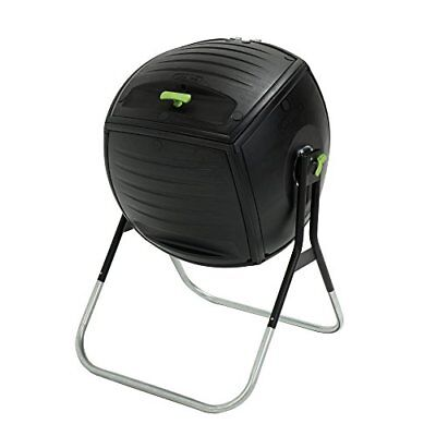 Lifetime 189 Litre  50 Gallon  Compost Tumbler - Black