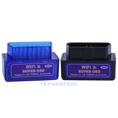 Super WiFi OBD2  Car Diagnostic Scanner Scan Tool for iOS Android Windows TN2F