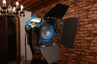 650W Fresnel Tungsten Spotlight Light + Bulb studio vedio film lighting