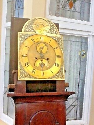 Jackson Gainsbough..georgian Longcase Clock 1770.