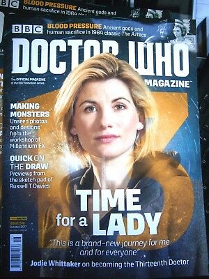 Doctor Who Magazine October 2017  Issue 516 (new)