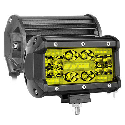 5inch 168W LED Work Light Bar Flood Combo Pods Driving Off-Road Tractor 4WD 12V