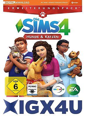 Die Sims 4: Hunde & Katzen DLC/Addon PC Origin Download Key EU/DE