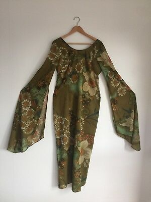 70's Retro David Stack Cotton Dress