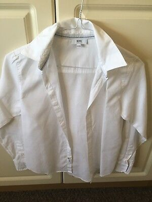 Boys Age 8/9 Hugo Boss Smart Shirt, Excellent Condition.