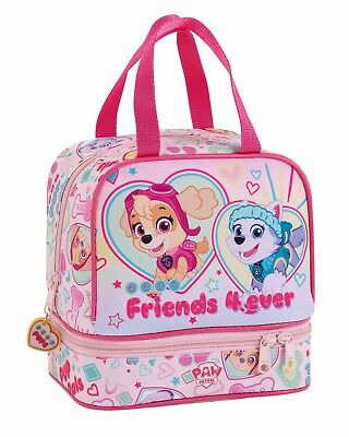 "PAW PATROL ""FRIENDS""  Portameriendas - Bolso para la merienda//Lunch Bag"