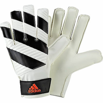 GOALKEEPERS GLOVES adidas CLASSIC LITE 2 ADULT SIZES 7 & 8 WHITE/ BLACK