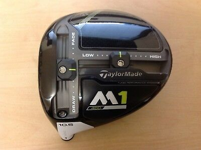 Taylormade Left Hand 2017 M1 10.5 Degree Driver Head Only - No Cover