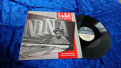 "Nina Simone ‎– My Baby Just Cares For Me 12"" Vinyl Single Charley Records"