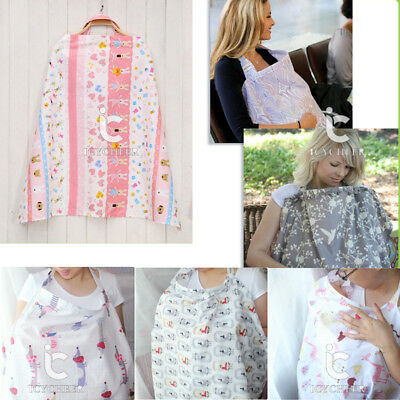 Breathable Breastfeeding Cover Muslin Mother Feeding outdoors feeding Nursing