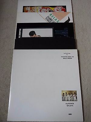 "Frankie Goes To Hollywood Welcome To The Pleasuredome Lp & 4 X 12"" Vinyl Records"