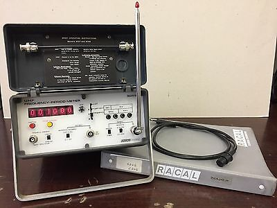 Original Racal 9059 Frequency - Period Meter Fully Working With Manual And Parts