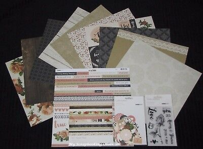 "Kaisercraft ALWAYS & FOREVER' 12x12"" Complete Paper Pk Love/Marriage KAISER"