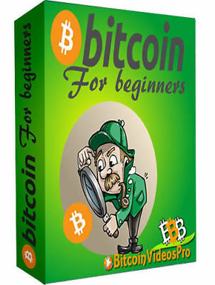 BITCOIN for Beginners PDF eBook With Master Resell Rights! Free Shipping!