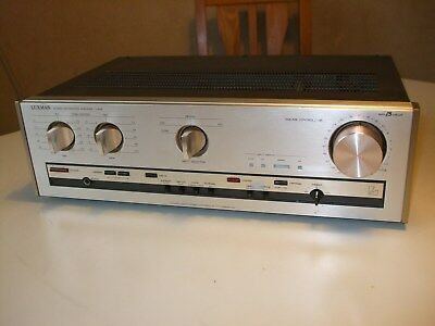 Luxman L-405 Stereo integrated amplifier.