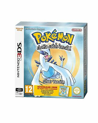 Pokemon Silver for 3DS 2DS New and Sealed