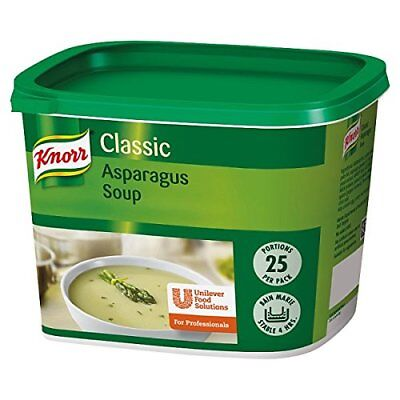 Knorr Classic Asparagus Soup 25 Portions SHORT DATED 01/2018