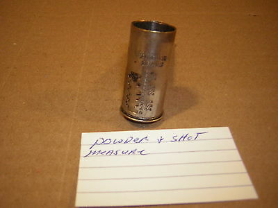Powder and shot Measure